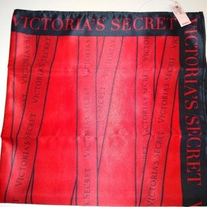 Victoria's Secret Logo Scarf  New with Tags